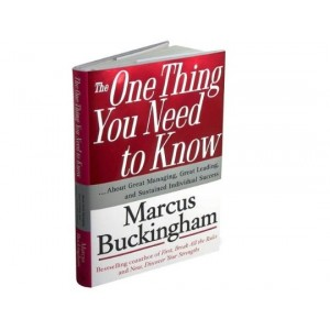 The One Thing You Need to Know by Marcus Buckingham
